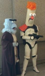 Sesame Street meets Star Wars